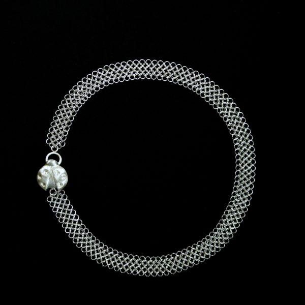 Ladybug Chain Mail Necklace