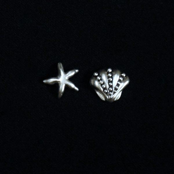 Starfish/Seashell Stud