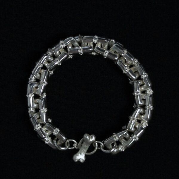 Dots Rectangle Bracelet & Necklace