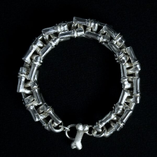 Bamboo Rectangle Bracelet & Necklace