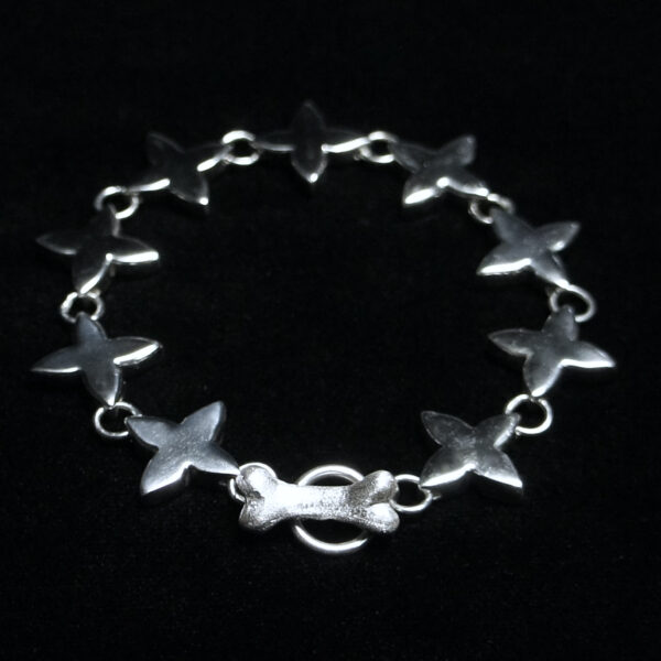"""Quatrefoil """"Heavy"""" Bracelet & Necklace"""